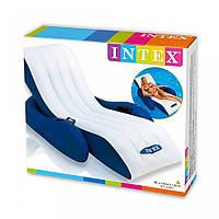 Пляжное надувное кресло - шезлонг Intex 58868 Интекс