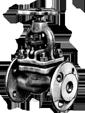 Клапан 15кч16п1 Ду40 Ру25 запорный