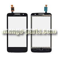 Тачскрин/Сенсор Alcatel 5020D One Touch M'Pop Dual  черный