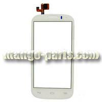 Тачскрин/Сенсор Alcatel 5036D Pop C5  Dual Sim белый