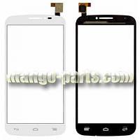 Тачскрин/Сенсор Alcatel 7040D/7041D One Touch POP C7 белый