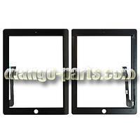 Тачскрин/Сенсор  iPad 3/iPad 4 черный high copy (полный комплект)