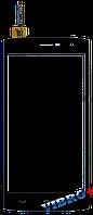 Тачскрин (сенсор) Ergo A550 Maxx, Doogee HomTom HT7, HomTom HT7 Pro, black (чёрный)