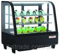 Витрина холодильная настольная Frosty RTW-100 черная
