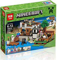 Конструктор Lepin 18013 Береговая цитадель (аналог Lego Minecraft) Майнкрафт