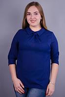 Женская блуза супер больших размеров Кортни синий