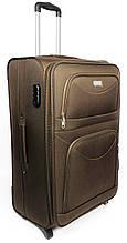 Тканевый большой чемодан на двух колесах Wings 345222, 92 л