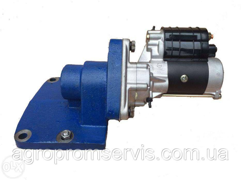 Переобладнання на редукторний стартер ЮМЗ пускового двигуна стартером 3.5 кіловат