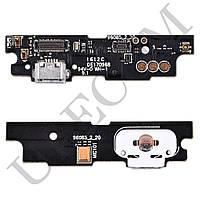 Разъем зарядки для телефона Meizu M3 Note с нижней платой, версия M681h