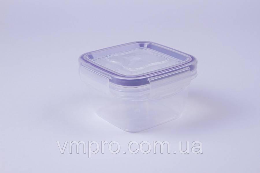 Контейнер пищевой с уплотнителем, герметичный, 0.275 L,емкость,судок для продуктов