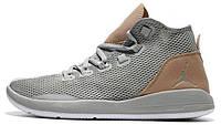 Баскетбольные кроссовки Nike Air Jordan Reveal Grey, Найк Аир Джордан серые