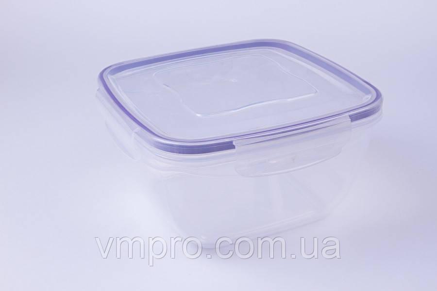 Контейнер пищевой с уплотнителем, герметичный, 2.4 L,емкость,судок для продуктов