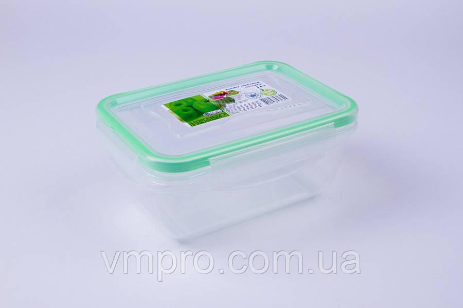 Контейнер пищевой с уплотнителем, герметичный, 1.4 L, емкость,судок для продуктов