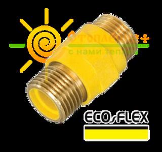Диэлектрическая изоляционная муфта ecoflex 3/4 шш