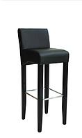 """Барный стул """"Омега2"""" из дерева и еко-кожи"""