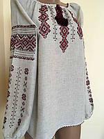 Блуза вишита з орнаментом ручної роботи розмір 52 (2ХL) aec3b7a67d022