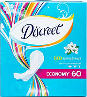 Прокладки щодені Діскріт 60шт Deo Spring Breeze (8001090170316)