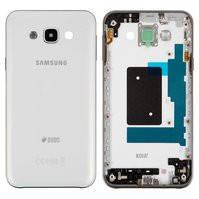 Корпус для мобильного телефона Samsung E700 Galaxy E7, белый, с боковыми кнопками