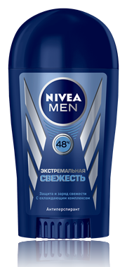 Дезодорант Nivea сухой мужской Экстремальная свежесть (40мл.)