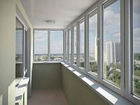 Балкон с установкой Viknaroff