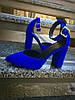 Шикарные замшевые туфли на каблуке