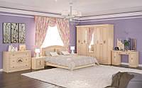 Спальный гарнитур Флорис со шкафом на 5 дверей. Мебель-Сервис