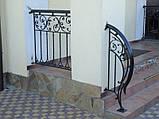 Кованые ограждения террас, лестниц,балконов, фото 4