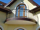 Кованые ограждения террас, лестниц,балконов, фото 2