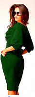 Платье Гвинея,цвет зеленый,скл 11- размер 42,46,48,50