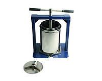 Ручной пресс для сока Вилен на 20 литров , нержавеющая сталь