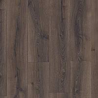 Ламинат Quick-Step Majestic MJ 3553 Доска дуба пустынного (Desert) брашированная темно-коричневая