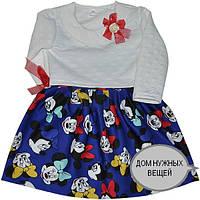"""Нарядное платье  """"Cute Minnie Mouse """" , трикотажное , для девочек от 3-6 лет  (2803171)"""