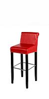 """Барный стул """"Альфа"""" из дерева и еко-кожи"""