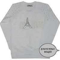 """Детский батник """"Paris In Fashion"""" , из трикотажа , для девочек от (8-9)(9-10)(10-11)(11-12) лет"""