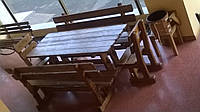 Мебель садовая из дерева