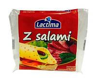 Сыр порционный Lactima z Salami 130гр
