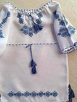Сукня вишита для дівчинки на 1-2 рочки