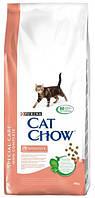 Сухой корм для кошек Cat Chow (Кэт Чау) Sensitive с чувствительным пищеварением 15 кг