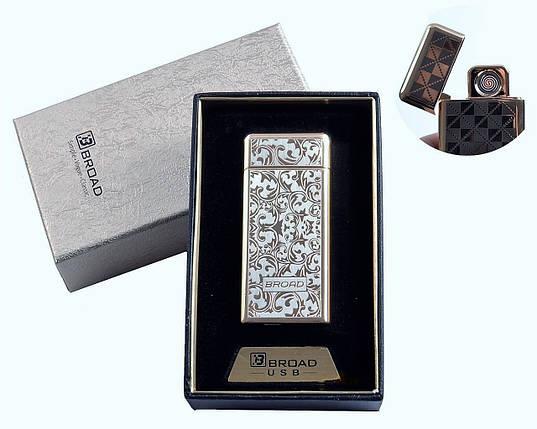"Спиральная USB зажигалка ""Broad"" №4850-3, двухсторонняя спираль накаливания, в подарочной коробке, фото 2"