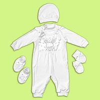 Комплект Крестильный для малышей р.68