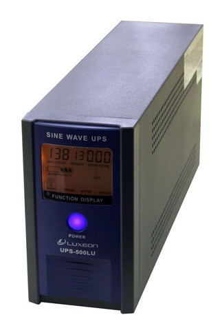 UPS (ИБП) Luxeon 500LU, 1000LU, 1500LU, 2000LU, 3000LU правильная синусоида