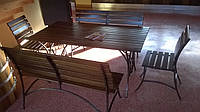 Мебель садовая кованая