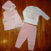 Детский костюм-тройка для малышей Ведмежонок 12-18 м. , фото 1