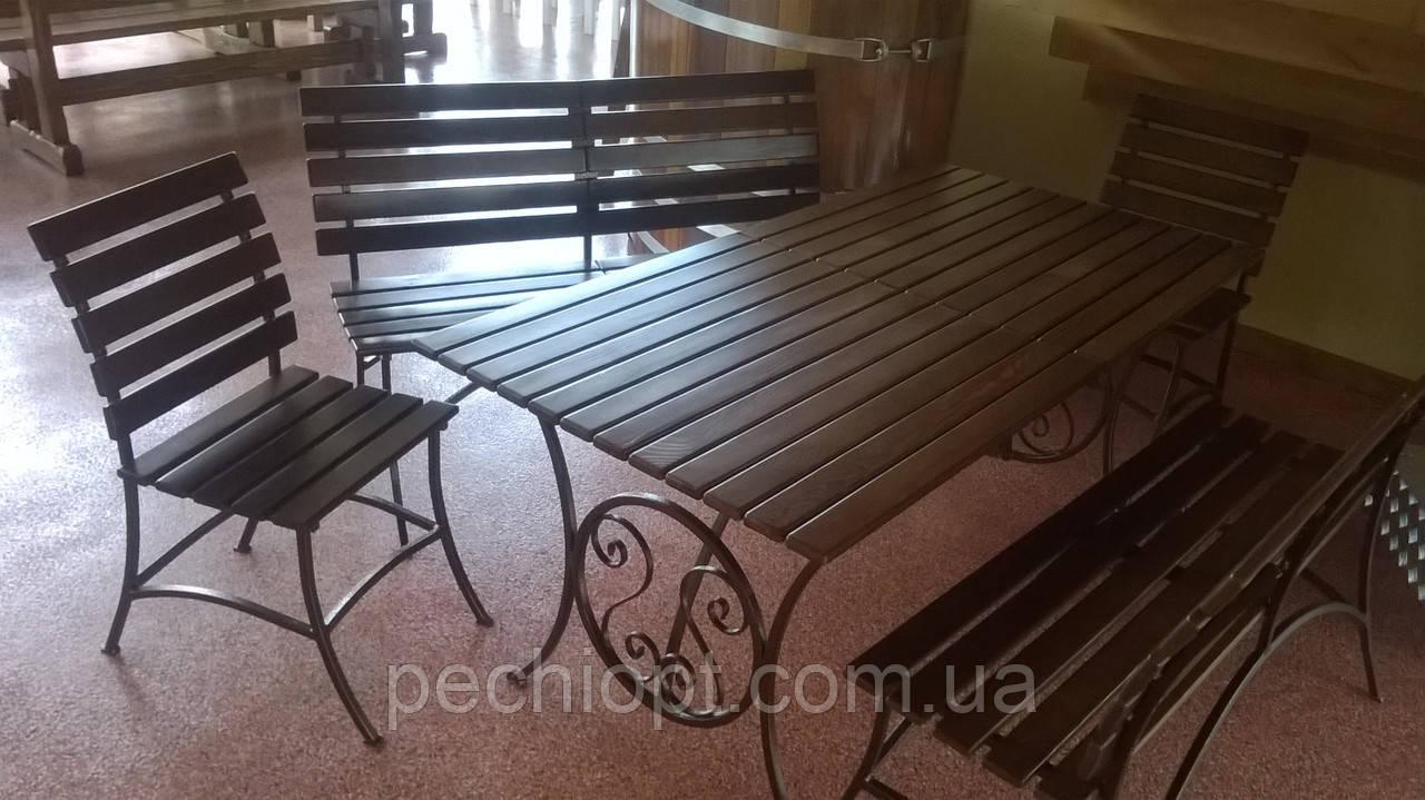 Комплект Кованой мебели - Салон «Сауны Камины Барбекю» в Киеве