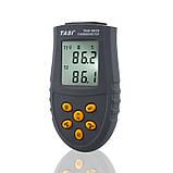 Термометр с термопарами К-типа - TASI-8620 ( TM620 ) ( -50ºC до 1350ºC ), фото 2