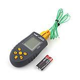 Термометр с термопарами К-типа - TASI-8620 ( TM620 ) ( -50ºC до 1350ºC ), фото 3