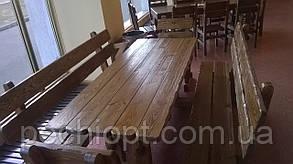 Деревянные столы для кафе, фото 2