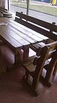 Деревянные столы для кафе, фото 3