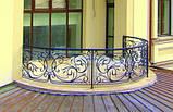 Ковані огорожі балконів, терас, сходів, фото 2