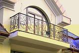 Ковані огорожі балконів, терас, сходів, фото 3